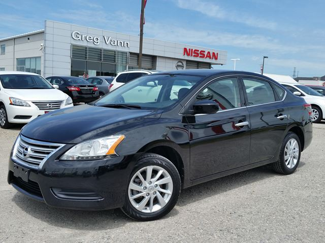 2015 NISSAN SENTRA SV w/alloys,heated seats,sxm radio,rear cam,sport mode in Cambridge, Ontario