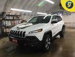 2016 Jeep Cherokee TRAILHAWK*4WD*NAVIGATION READY*LEATHER CLOTH INSER in Cambridge, Ontario