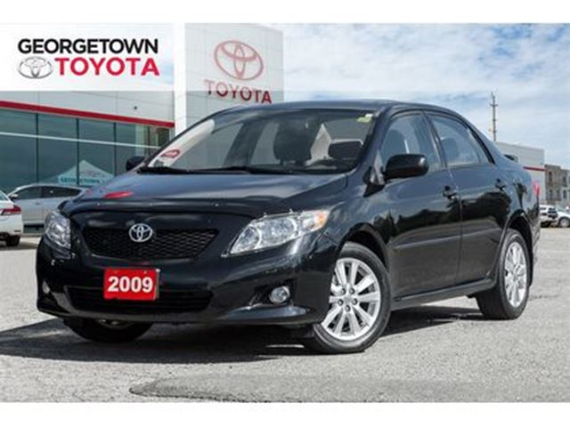 2009 TOYOTA COROLLA LE CLEAN SUNROOF POWER SEAT CRUISE CONTROL in Georgetown, Ontario