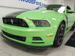 2013 Ford Mustang GT Boss 302 6-SPD manual in lime green. a Mean green racing machine in Edmonton, Alberta