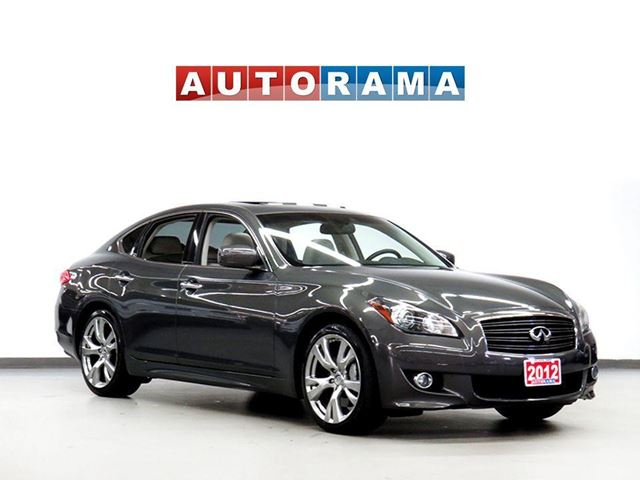 2012 INFINITI M37 NAVIGATION BACKUP CAM LEATHER SUNROOF 4WD in North York, Ontario