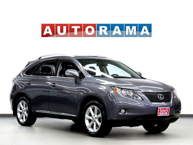 2012 LEXUS RX 350 NAVIGATION BACKUP CAMERA LEATHER SUNROOF 4WD in North York, Ontario