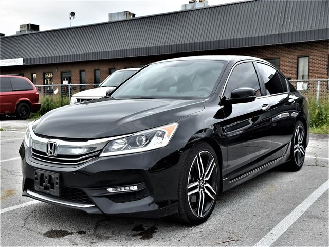 2016 HONDA ACCORD Sport SUNROOF, ALUMINUM WHEELS, REAR CAMERA !!! in Concord, Ontario