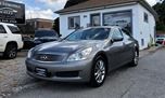 2009 Infiniti G37 LEATHER NO ACCIDENT in Mississauga, Ontario