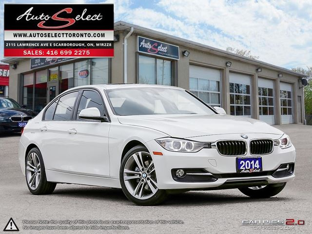 2014 BMW 3 SERIES xDrive AWD ONLY 91K! **SPORT PKG** NAVIGATION PKG in Scarborough, Ontario