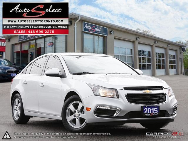 2015 CHEVROLET CRUZE ONLY 107K! **2LT MODEL** LEATHER **BACK-UP CAMERA* in Scarborough, Ontario