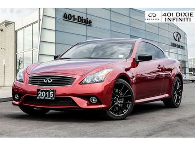 2015 INFINITI Q60 WOW! LIMITED COUPE! NAVI! BACKUP CAM! in Mississauga, Ontario