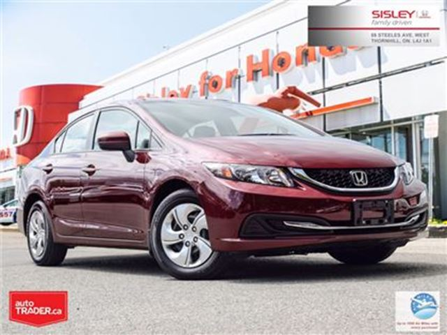 2014 HONDA CIVIC LX in Thornhill, Ontario