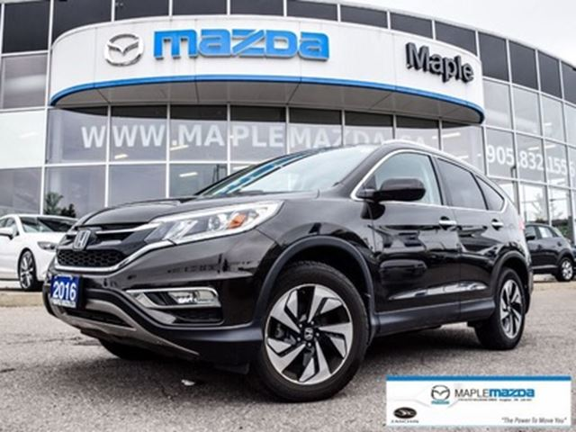 2016 HONDA CR-V Touring, Leather,Navi, AWD...top line in Vaughan, Ontario
