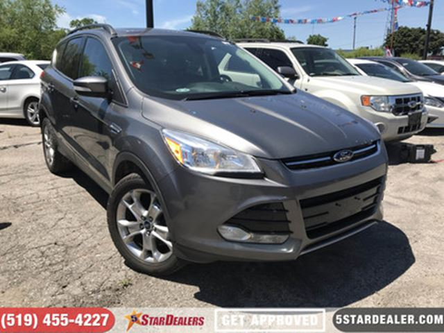 2013 Ford Escape SEL   PANO ROOF   NAV   LEATHER   4X4 in London, Ontario