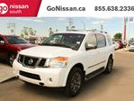 2015 Nissan Armada RESERVE: NAVIGATION, CAPTAINS CHAIRS, SUNROOF in Edmonton, Alberta