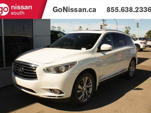 2013 INFINITI JX TECH PACKAGE, DUAL SUNROOF, LEATHER, HEADREST DVDS, NAVIGATION, BACKUP CAMERA in Edmonton, Alberta