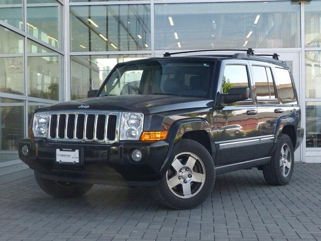 2010 JEEP COMMANDER Sport 4D Utility 4WD in Vancouver, British Columbia