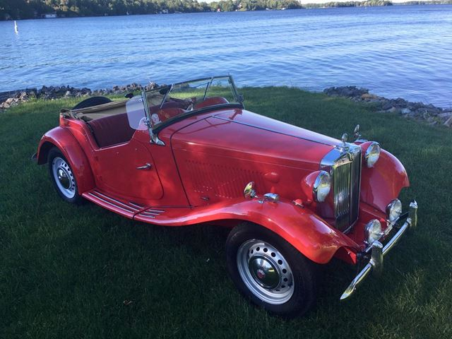 1952 MG TD MARK ll ONLY 35000 miles in Perth, Ontario