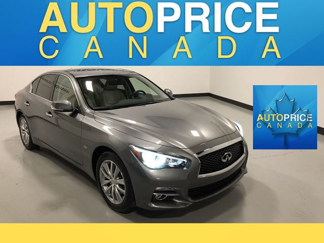 2016 INFINITI Q50 2.0T Base NAVIGATION|REAR CAM|LEATHER in Mississauga, Ontario