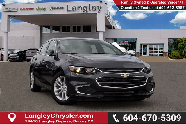 2018 Chevrolet Malibu LT in Surrey, British Columbia