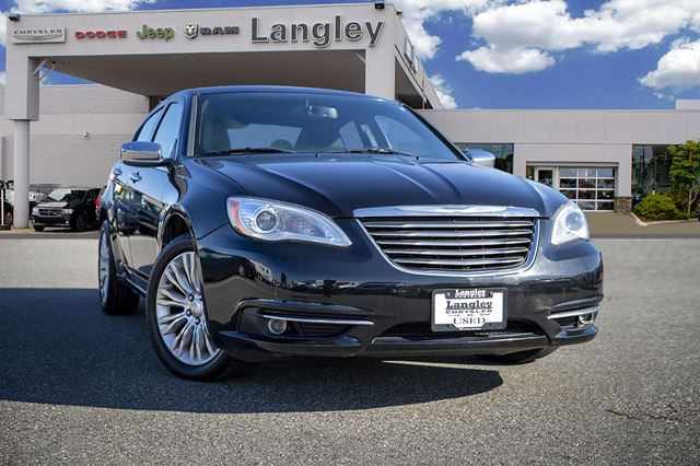 2011 Chrysler 200 Limited in Surrey, British Columbia