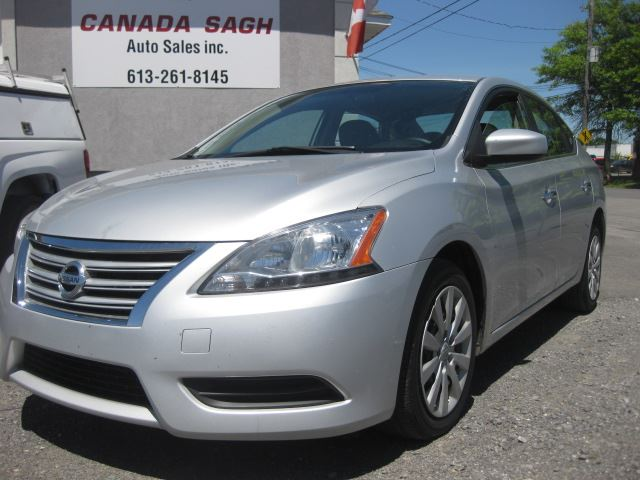 2013 NISSAN SENTRA ONE OWNER, BLUETOOTH, ONLY 103K, 12 M WRTY+SAFETY in Ottawa, Ontario