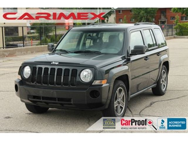 2009 JEEP PATRIOT Sport/North ONLY 46K   AC   CERTIFIED in Kitchener, Ontario