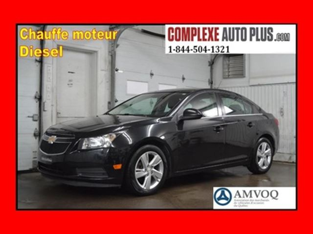 2014 Chevrolet Cruze DIESEL *Cuir, Camera recul, Bluetooth, Mags in Saint-Jerome, Quebec