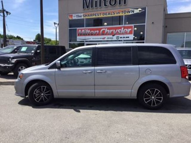 2017 Dodge Grand Caravan Blacktop in Milton, Ontario