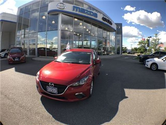 2015 MAZDA MAZDA3 Sport GS,1.9% FINANCE AVAILABLE, NO ACCIDENTS in Mississauga, Ontario