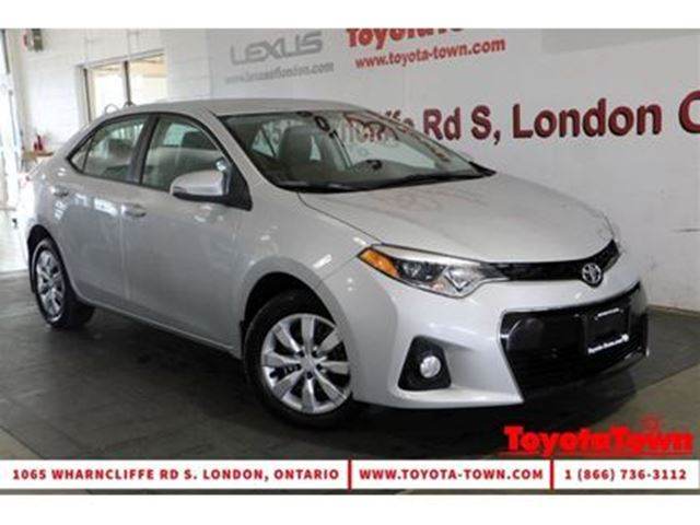 2014 TOYOTA Corolla SINGLE OWNER S HEATED SEATS BACKUP CAMERA in London, Ontario