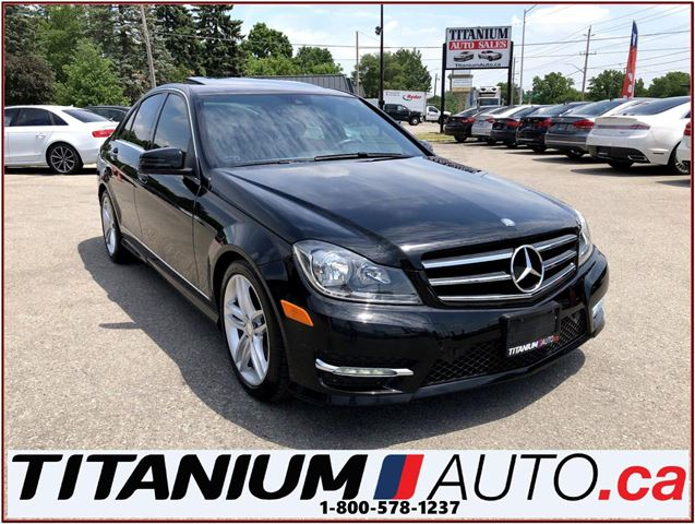 2014 MERCEDES-BENZ C-Class 4Matic+GPS+Camera+Blind Spot & Lane Warning+Sunroo in London, Ontario