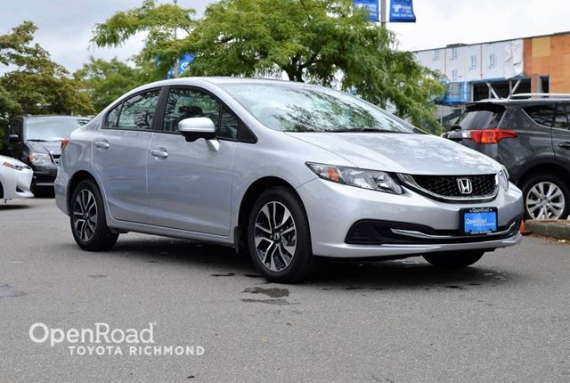 2015 HONDA Civic EX - Heated front seats, Back-up camera, Power  in Richmond, British Columbia
