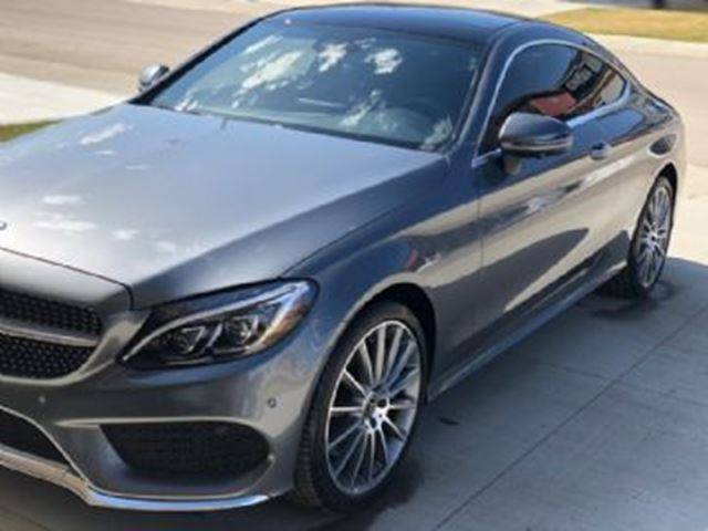 2018 MERCEDES-BENZ C-Class C 300 4MATIC Coupe ~ Loaded + Winter Tires/rims in Mississauga, Ontario