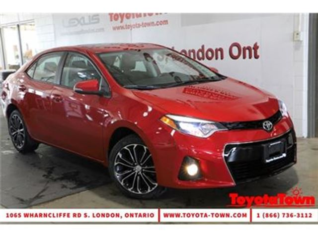 2014 TOYOTA Corolla SINGLE OWNER S MOONROOF ALLOYS BACKUP CAMERA in London, Ontario