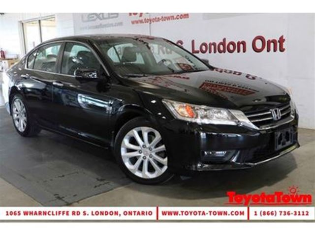 2014 HONDA Accord FULLY LOADED TOURING LEATHER NAVIGATION in London, Ontario