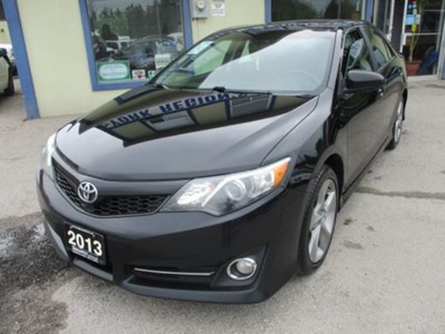 2013 TOYOTA Camry LOADED SE EDITION 5 PASSENGER 3.5L - V6.. LEATH in Bradford, Ontario