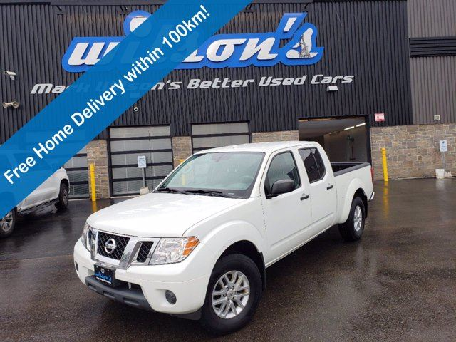 2017 NISSAN Frontier SV  CREW CAB 4X4   V6   BLUETOOTH   NISSANCONNECT   SLIDING REAR WINDOW   ALLOY WHEELS in Guelph, Ontario