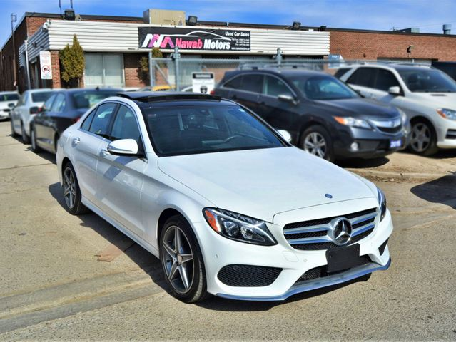 2015 MERCEDES-BENZ C-Class C 300|NAVIGATION|LEATHER|AMG PACKAGE in Brampton, Ontario