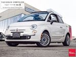 2017 Fiat 500 1 Owner *Lounge Cabriolet * Only 25237 kms ! in Woodbridge, Ontario