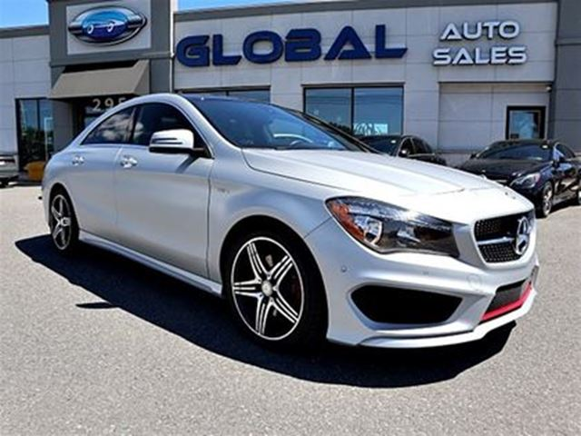 2015 MERCEDES-BENZ CLA250 4MATIC SPORT NAVIGATION ALLOYS. in Ottawa, Ontario