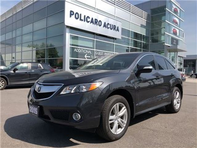 2015 ACURA RDX Tech at Technology Package, Navigation, One Owner! in Brampton, Ontario