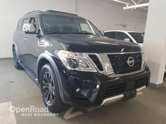 2017 NISSAN Armada 4WD 4dr Platinum Edition in Vancouver, British Columbia