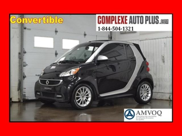 2013 SMART Fortwo Passion Cabriolet Convertible in Saint-Jerome, Quebec