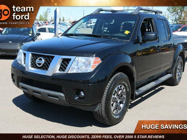 2015 NISSAN Frontier PRO-4X, 4.0L V6, Touch Screen, Navigation, Dual Climate Control, One Owner, No Accidents in Edmonton, Alberta