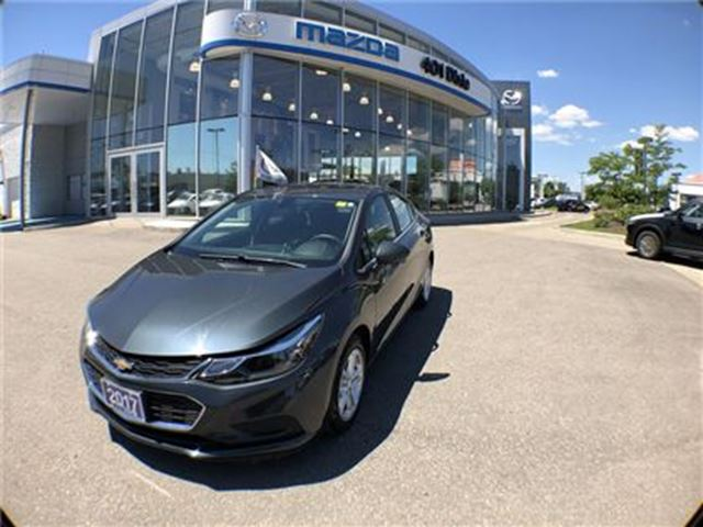 2017 CHEVROLET Cruze LT Auto, NO ACCIDENTS, REAR CAM, SUNROOF in Mississauga, Ontario