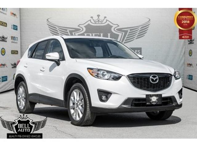 2015 MAZDA CX-5 GT~ NAVI~SUNROOF~LEATHER~BLUETOOTH in Toronto, Ontario