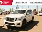 2017 Nissan Armada Platinum Edition, LEATHER, DVD, SUNROOF, NISSAN CERTIFIED!, HEATED SEATS, NAVIGATION, in Edmonton, Alberta