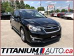2015 Subaru Impreza Limited+AWD+GPS+Camera+Sunroof+Leather Heated Seat in London, Ontario