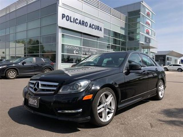 2012 MERCEDES-BENZ C-Class C300 4MATIC Sedan Navigation, AWD, Leather Interior! in Brampton, Ontario