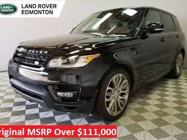 2016 Land Rover Range Rover Sport V8 Supercharged Dynamic Cpo 6yr