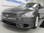 2009 Nissan Maxima SV with a sunroof and heated power leather seats in Edmonton, Alberta