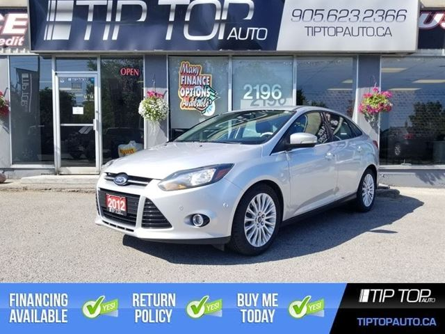 2012 Ford Focus Titanium ** Nav, Leather, Backup Cam, Heated Se in Bowmanville, Ontario