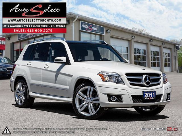 2011 MERCEDES-BENZ GLK-Class 4Matic GLK350 AWD ONLY 171K! **PANORAMIC SUNROOF**  in Scarborough, Ontario